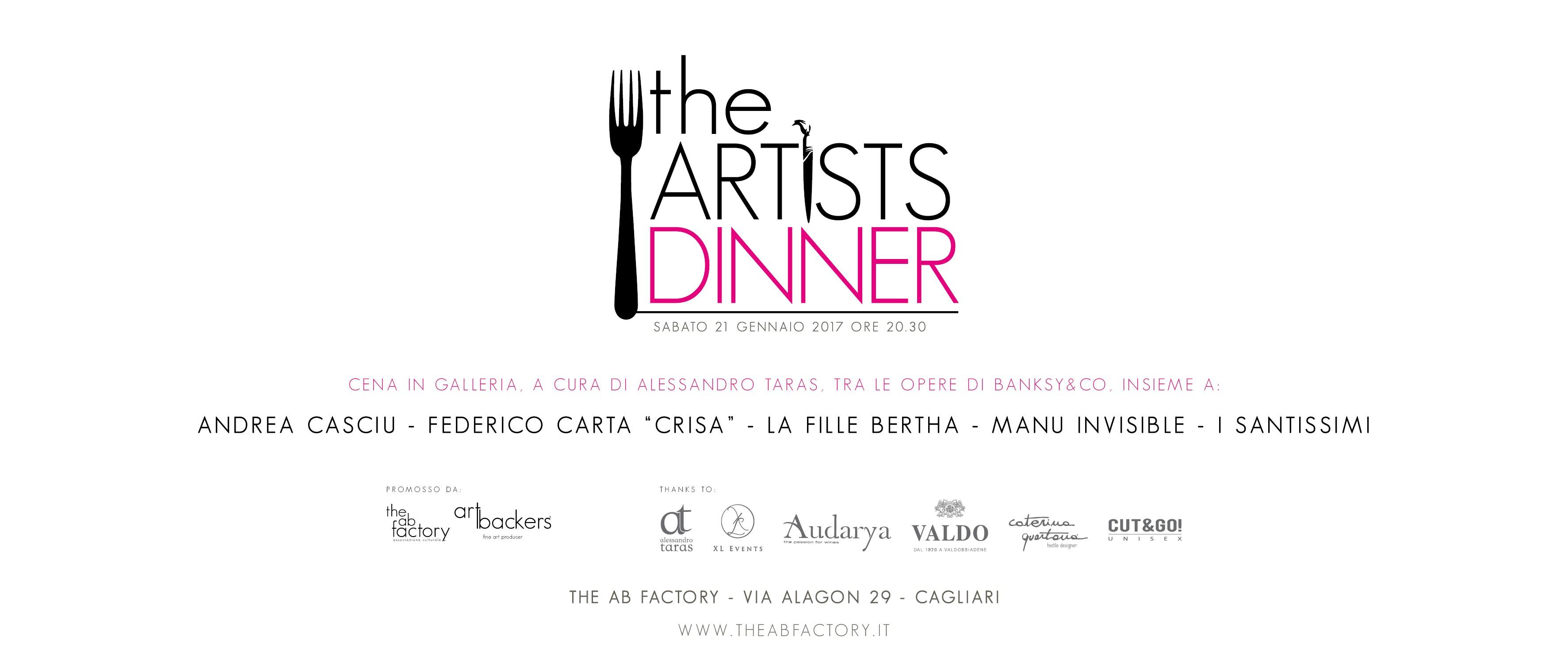 the artist dinner