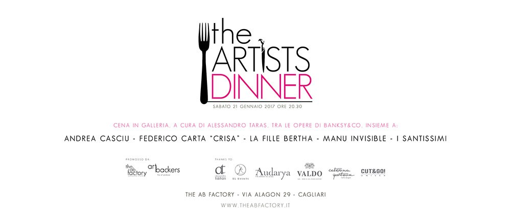 The Artists Dinner - The AB Factory