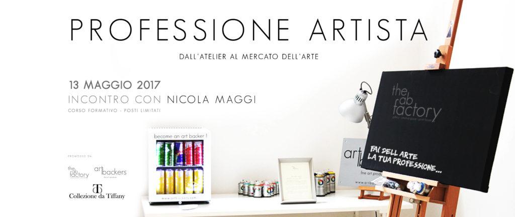 Professione Artista - Dall'Atelier al Mercato dell'ARTE - Nicola Maggi - The AB Factory